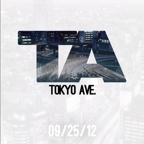 Do You Live On #tokyoave? Drops tomorrow.  (Taken with Instagram)