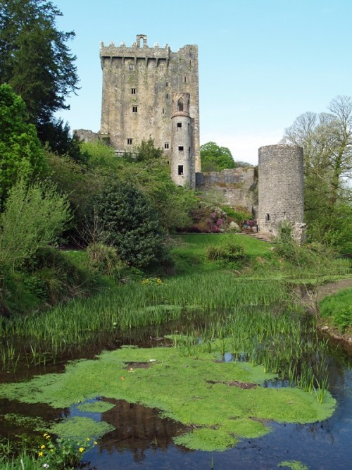 (via The garden of Blarney Castle (II), a photo from Cork, South | TrekEarth) Blarney, Ireland