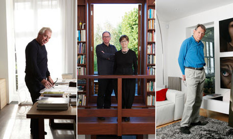 Inside the homes of our star architects They are happy to lay down the law on what makes a good stadium, tower block or concert hall, but do architects practise what they preach when it comes to their own homes? We go through the keyhole to meet three nominees for the hotly contested RIBA Stirling prize