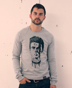 Rebel With A Cause sweatshirt by Dance Party Massacre.