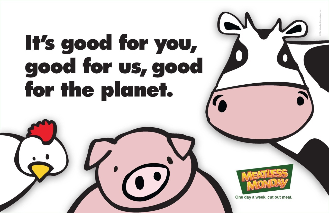 Happy Meatless Monday! http://www.meatlessmonday.com/