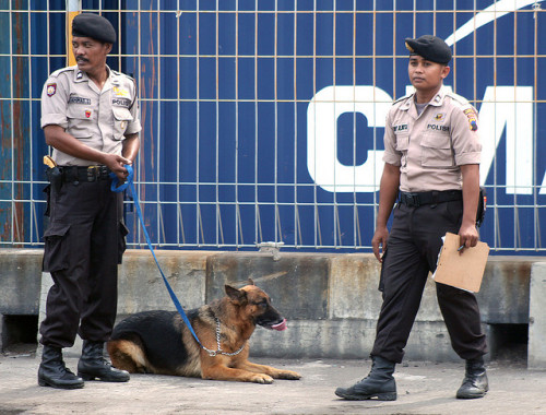 Indonesia Arrests 10 Suspected Militants | The Wall Street Journal  By James Hookway  JAKARTA—An Indonesian antiterrorist squad arrested 10 suspected Islamist militants and seized a stash of improvised bombs, police said Sunday, as worries grow over home-grown militants' plans to strike local security forces and government officials. The detentions underscore the way Indonesian militants have veered away from targeting Western tourists and embassies in recent years. Security analysts say they instead are now plotting lower-profile attacks on the country's security forces and politicians, whom they accuse of preventing the introduction of Islamic Sharia law in the world's most-populated Muslim-majority nation. FULL ARTICLE (The Wall Street Journal) Photo: Luther Bailey/Flickr
