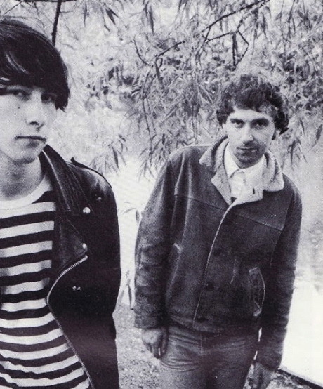 Bobby Gillespie & Jim Beattie of Primal Scream, 1985