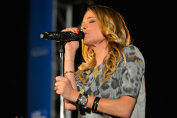 LeAnne Rimes performing at the Songwriter's Series