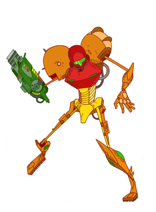 thenintendard:  Samus by HazelNut-624