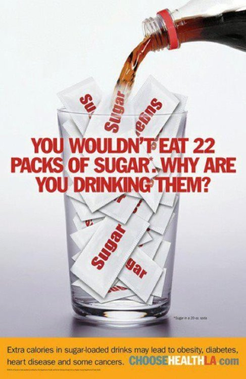 healthyfoody:  this is so true, drinking calories is not a bad thing- drinking sugar is