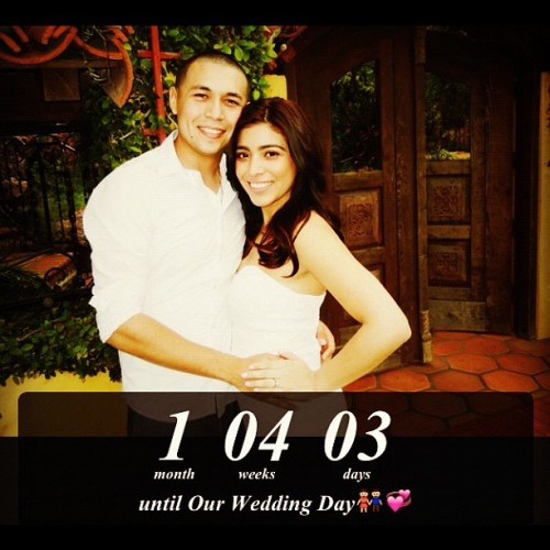 In exactly 2 months ill be Bethany Carrera😍😁👰💕 #wedding #nov242012 #bethany #carrera #countdown #timeflies #excited #happy #love (Taken with Instagram)