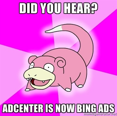 adCenter is now @BingAds