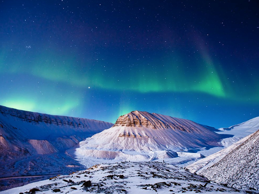 Aurora Borealis, Svalbard Credit: Max Edin (National Geographic Photo of the Day) For more information on the Aurora Borealis, check out NASA's webpage on auroral lights.