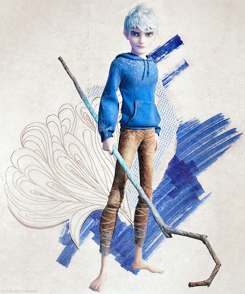 Jack Frost is a supernatural being much like the Guardians, but unlike the others he is a loner, the classic rebel without a cause. He too is immortal, eternally young, charismatic, and smart. He has incredible weather powers that he controls with the help of his magical staff; he can call the wind, storms, cold and snow. He is the spirit of mischief and chaos personified, but until he can discover the purpose behind his amazing powers, he will never be a true Guardian.  Texture: [x]