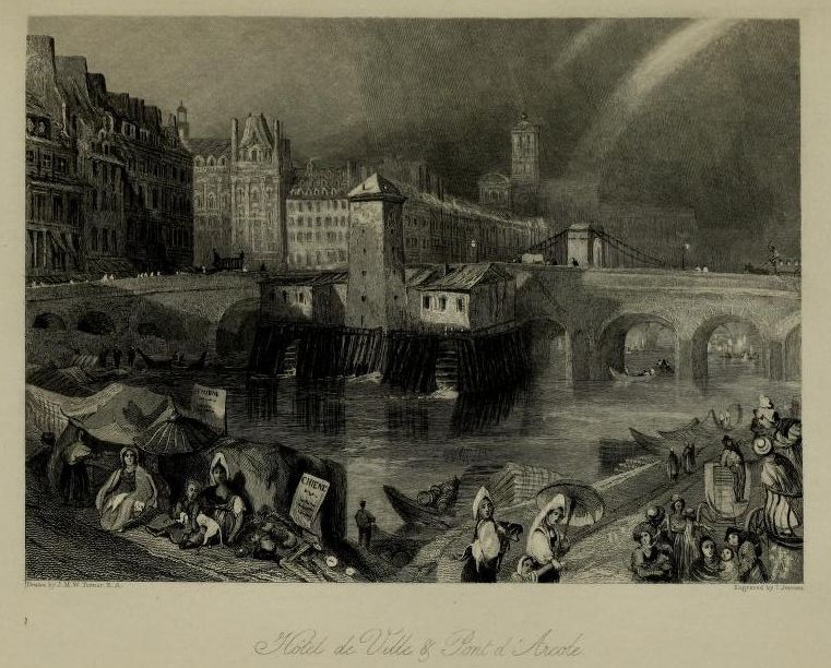 Wanderings by the Seine : from Rouen to the source (1835) Author: Ritchie, Leitch, 1800?-1865; Turner, J. M. W. (Joseph Mallord William), 1775-1851, ill. illPublisher: London : Published for the proprietor, by Longman, Rees, Orme, Brown, Green, and Longman ; Paris : Rittner & Goupil ; Berlin : A. Asher via