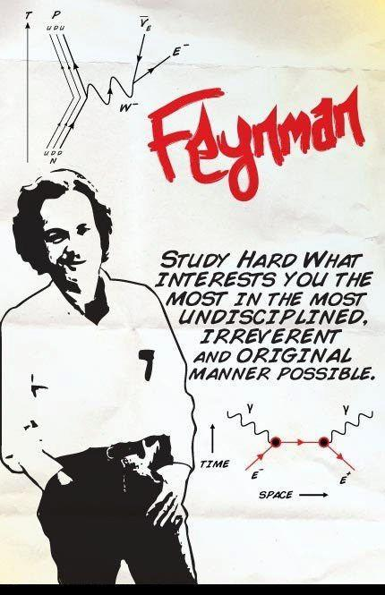 jtotheizzoe:  Wisdom from Richard Feynman on the importance of irreverence and whimsy in study. (anyone know the source?)