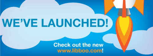 libboo:  We've finally launched! Sign up at www.libboo.com so you can get buzzing! What's this Libboo thing? Libboo connects buzzers (readers who love to share and talk about books) with books they'll enjoy, to create the next digital bestseller and help authors get discovered. Buzzers get rewards such as free ebooks, and increase their influence by sharing great writing with their friends and followers via social media, email, and other online channels. Also, we just partnered with Houghton Mifflin Harcourt, and together we're pretty much an unbeatable force of awesome.  WOO! Can't wait for my own book to come out!