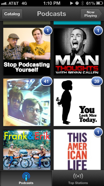 This new podcasts-separated-from-iTunes feature can eat a dick.