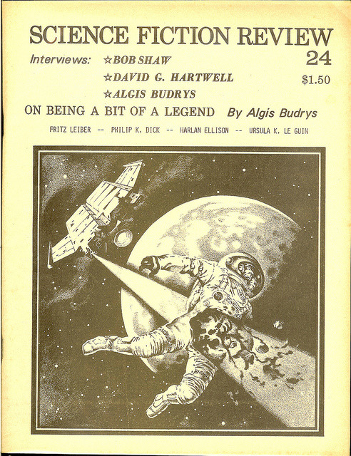 vintagepaperbacks:  Science Fiction Review 24 - February 1978 - Vol 7 No. 1 - cover by Stephen Fabian by Cadwalader Ringgold on Flickr.