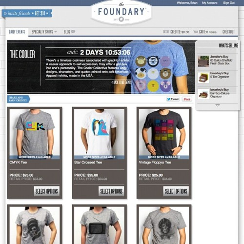 new sale on thefoundary.com ! ends Wednesday at midnight  (Taken with Instagram)