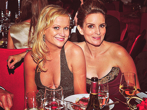 Emmy for cutest couple.Emmy for best cleavage.Emmy for hard core fashion that just won't quit.Emmy for best bits, year after year.Emmy for best sense of humor.