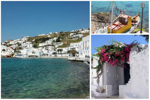 With the pristine beaches and lively nightlife, Mykonos attracts tourists from all over the world. In mythology, it is said that Mykonos is where Zeus battled with the Gigantes, and it was a haven for pirates in the 18th century! http://bit.ly/yeubu0