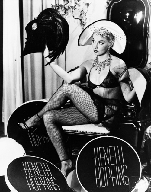 Burlesque dancer, Lili St. Cyr c. 1950's