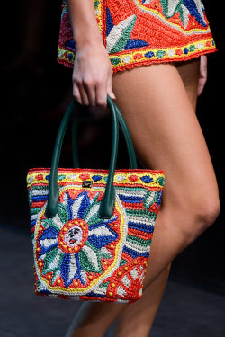 holographic-skulls:  loubourent:  Dolce & Gabbana Spring Summer 2013 Milan Fashion Week  perfect