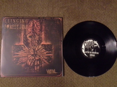fucking-vinyl:  Clinging To The Trees Of A Forest Fire - Visceral Black, /500 (1st Press)