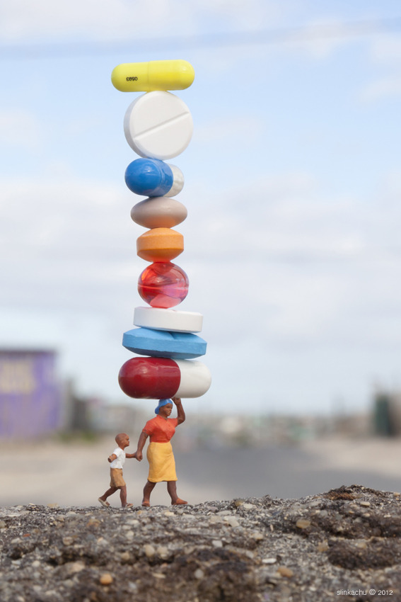 laughingsquid:  Balancing Act by The Little People Project Benefits South African Kids Affected by HIV/AIDS