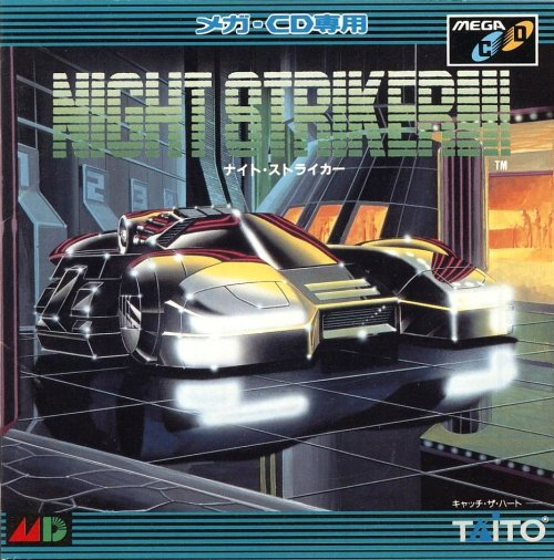 Night Striker, Sega CD.