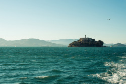 Leaving Alcatraz by chase_elliott on Flickr.