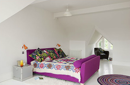 Source: Inspace Flash of pink anyone? This is a great space!