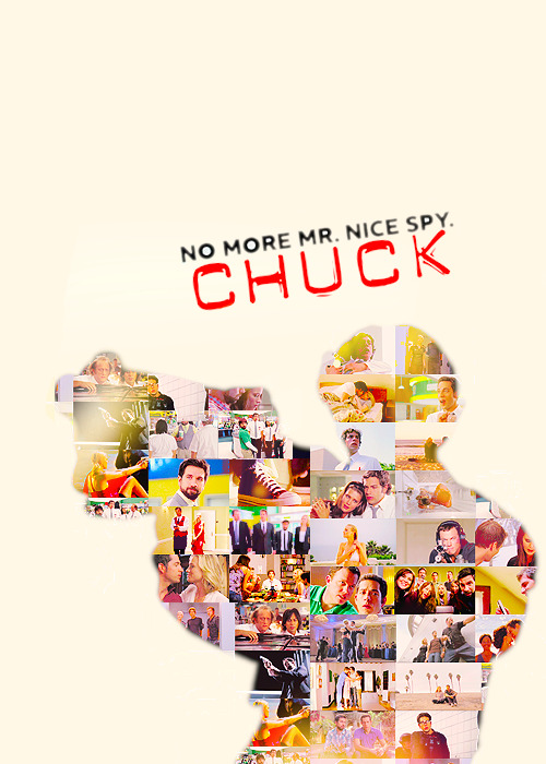 "steelmeltingsmile:   ""Chuck"" was a show with a lot of moving parts, mixing a lot of tones and styles and genres into a blender. Some weeks, everything worked. Some weeks, only some parts worked. Some weeks, we basically had to wrestle our brains to the ground to accept that the plot could actually work the way it did. But ""Chuck"" was a show where we forgave a lot because the joy of the show — both of the people making it and that we could feel watching it — was always so palpable. These people loved making this ridiculous show, and we loved them for it. And though the show went dark at times, often very effectively (Stephen's death, Sarah executing Mauser and then lying to Chuck about it), but ultimately it was an upbeat show that took its cues from its happy-go-lucky main character. When Chuck, Sarah and Casey teamed up, all three of them were forever changed, but the two veteran spies became a lot more like Chuck than he became like them. [x]   Celebrating Chuck's 5 years anniversary [24.09.2007 - 24.09.2012]"