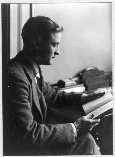 Happy Birthday, F. Scott Fitzgerald (September 24, 1896 – December 21, 1940)