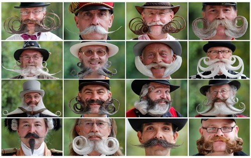 thedailywhat:  Beard And Moustache Championship Contestants of the Day: On the one hand… awesome. On the other… what is wrong with these guys? Do they go to this much trouble every day?! [bothsidesofthegun]  erhmaaazingggg.