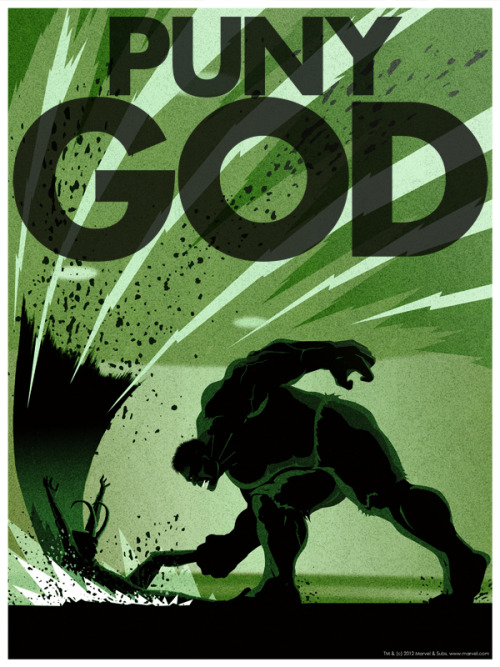 icy-mischief-thunderous-mayhem:  Puny God by *Cakes-and-Comics