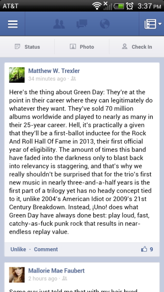 This is what my best friend Matthew W. Trexler had to say about a few things :)