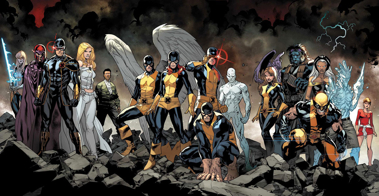 Stoked about All New X-Men. Look at that Stuart Immonen art! LOOK AT IT!