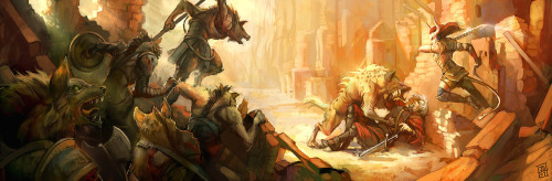 garrafazerg:  Gnolls by *juliedillon