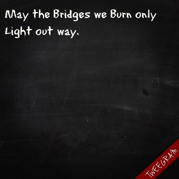 #bridges #burn #light #way #miguel (Taken with Instagram)