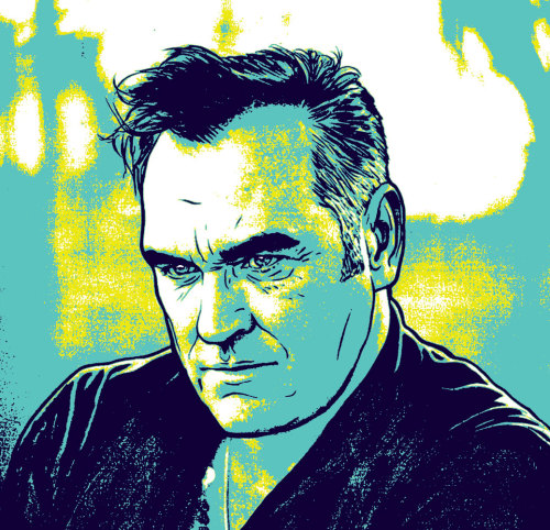 Rejected illustration of Morrissey by Tassos Papaioannou | ᔥ onemanshowstudio