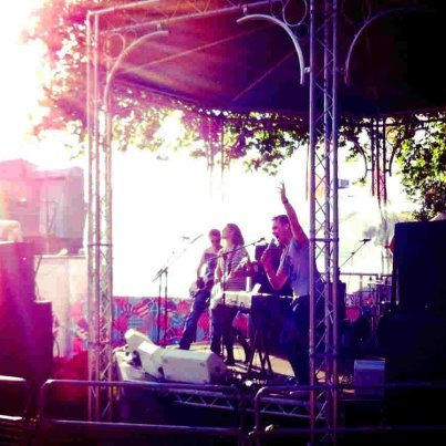 Hyde Park BT London Live - Olympics 2012 - Really wonderful to play at Hyde Park on the first day of the Olympics and to debut 'Get Some Scars'. Thanks to B and Live Nation.