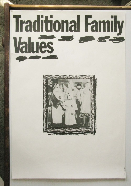 ftff:  It's James Victore Week! Traditional Family Values, 1992.