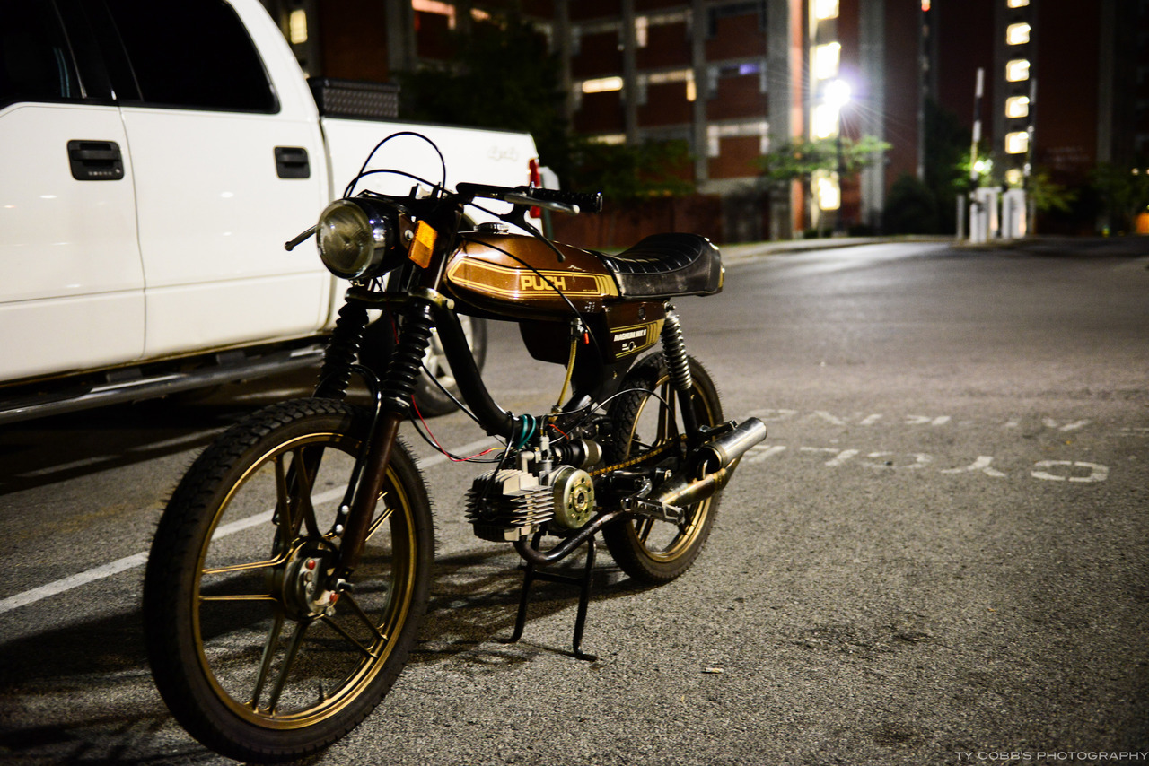 Not a great pic, but love this cafe racer!