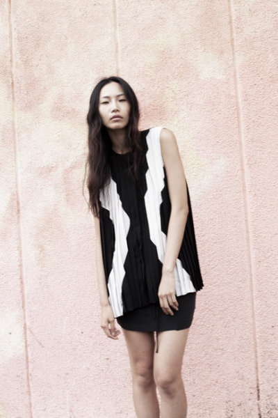 Dion Lee Line II Spring 2012 Lookbook