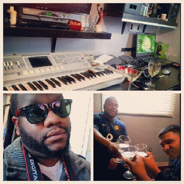 Lab Flow wit @burdxkeyz @rondiasmusic  (Taken with Instagram)