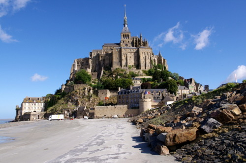 (via Mt. St. Michel, a photo from Basse-Normandie, North | TrekEarth) Mont Saint Michel, Lower Normandy, France