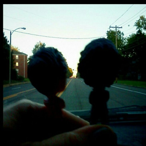 bigheadhazandlou:  Louis and Harry are excited to be on their way to see Canadian classic rockers Rush.