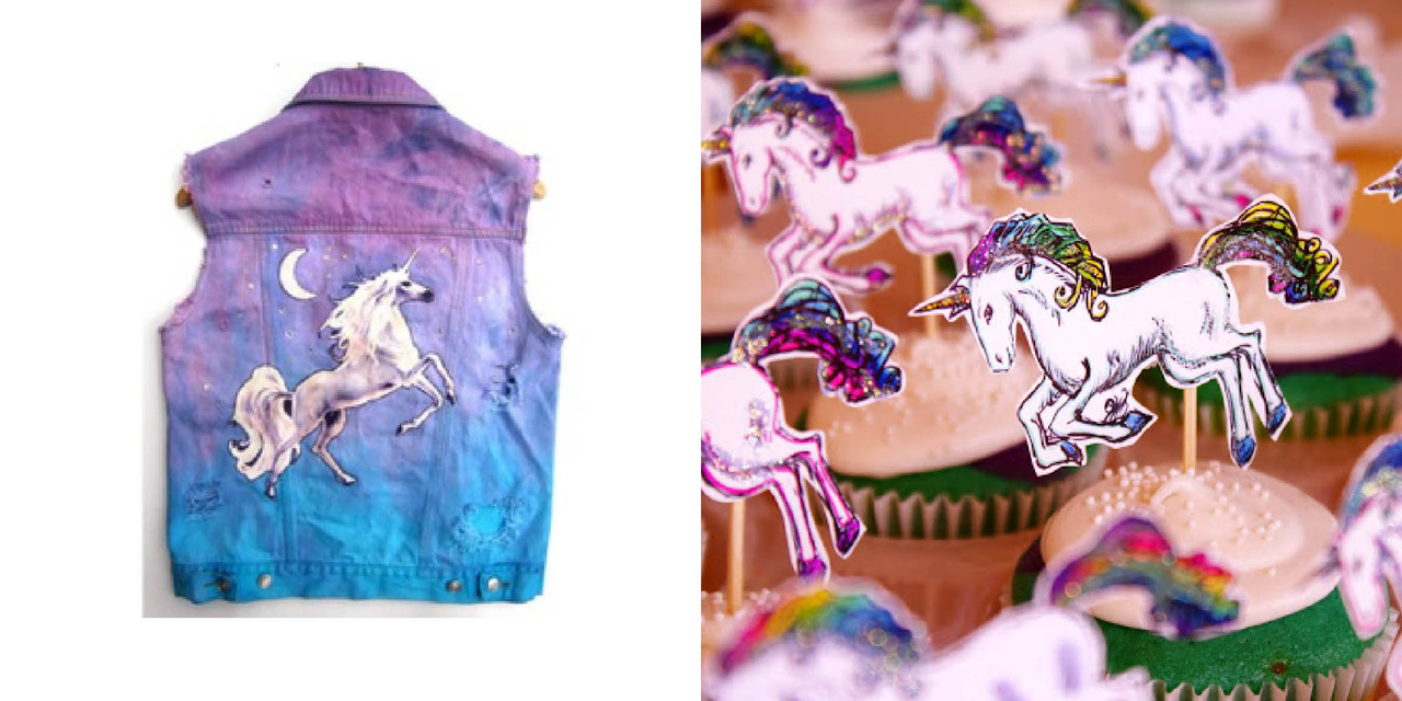 Polyvore denim vestvUnicorn cupcakes The secret ingredient