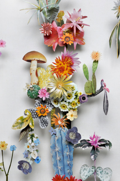 Anne ten Donkelaar(via Flower Constructions on the Behance Network) by Anne ten Donkelaar