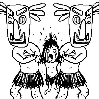 """Sacrificio virginal. Tryndamere nos propone una decisión bastante hardcore (mucho): Vives en un pueblo en el que cada año sacrifican a una virgen al azar para apaciguar al volcán cercano. La eligen entre todas las hembras de la tribu sin importar su edad; mientras sea virgen no importa si es recién nacida o vieja decrépita. Este año le ha tocado a tu hija de 6 años. Mañana vendrán a por ella. Antes de llevarsela confirmarán que siga siendo virgen. Tu única opción de salvarla es violarla. De hacerlo se buscará otra víctima y os dejarán tranquilos pero si intentas de algún modo oponerte al sacrificio mientras tu hija siga virginal, tú y toda tu familia seréis torturados en una dura y larga agonía hasta la muerte. Si eres la madre, tendrás que convencer al padre de que lo haga. Al quedar poco tiempo nadie se fiará de que ha perdido la virginidad (porque ayer era virgen), sospecharán que has """"maquillado"""" la realidad para evitar la muerte de tu hija, así que la única alternativa es hacerlo en público, a la vista de todos los habitantes de la aldea. ¿Violarás a tu hija para que pueda vivir o por el contrario prefieres su muerte rápida al ser arrojada a la lava del volcán?. Es el momento de tomar la decisión más jodida hasta la fecha:"""