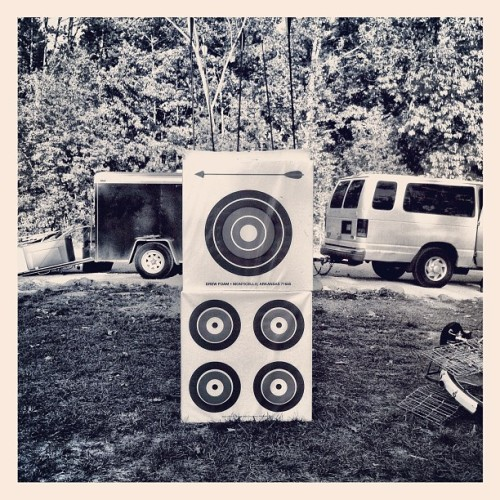Arrows & music video (Taken with Instagram at Camp Wandawega)