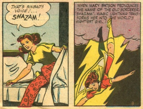"Mary Marvel Month, Day 27! Mary Marvel: World's Biggest ""A Different World"" Fan."